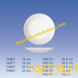 Dĩa Cạn Ảo TAB181