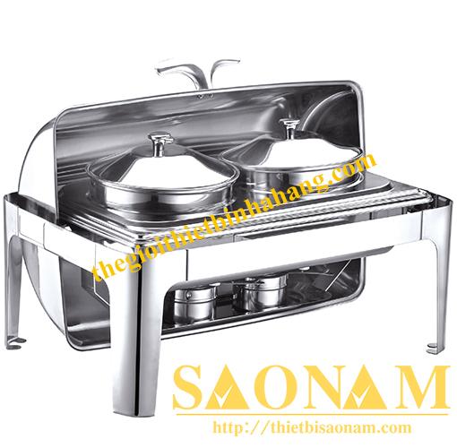 Nồi Hâm Cháo - Soup Sacona Hcn Chân Inox SN#520054