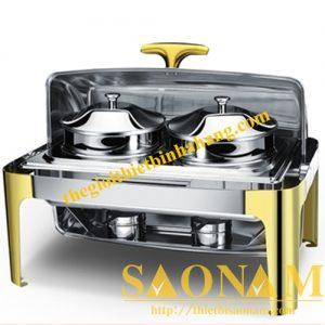 Nồi Hâm Cháo - Soup Sacona Hcn Chân Vàng SN#520902